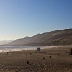 Der Strand von Pismo Beach im Sonnenuntergang