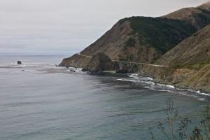 Steilküste an der Route No. 1