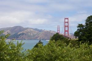 Die Golden Gate Brücke